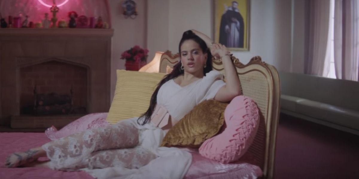 Rosalía en el vídeo de 'Di mi nombre'