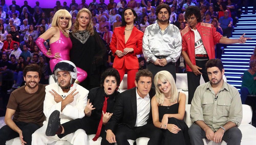 Los concursantes de 'Tu cara me suena' en la sexta gala