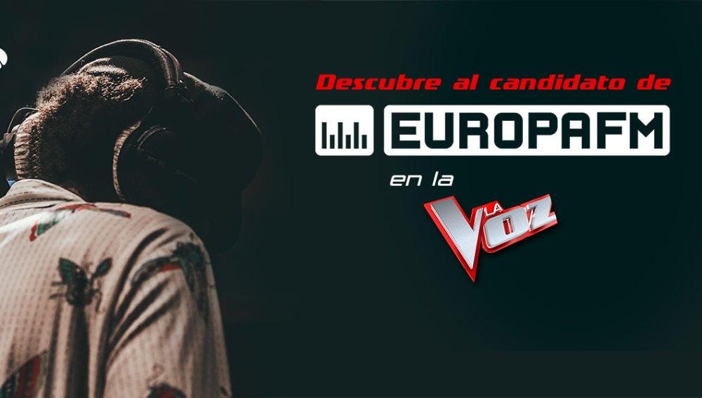 Candidato de Europa FM para La Voz