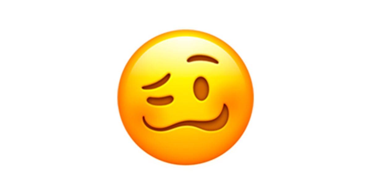 Emoji cara indispuesta