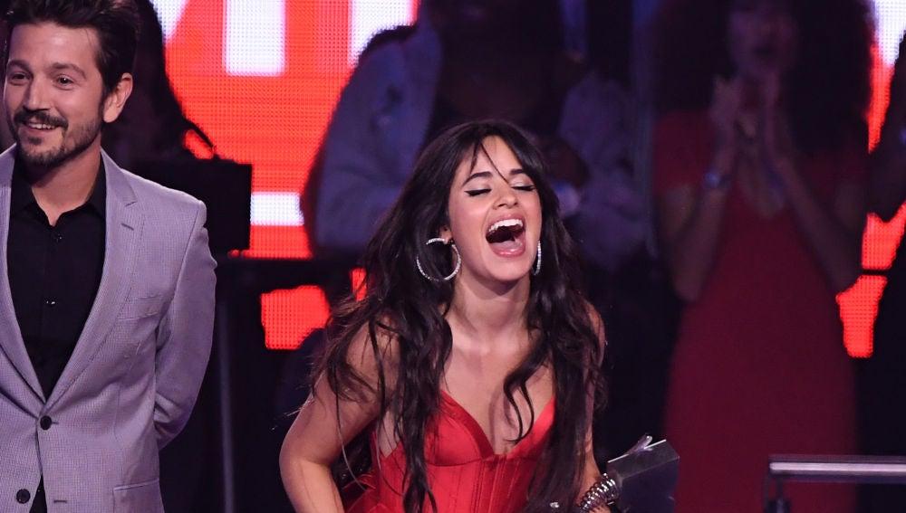 Camila Cabello en los MTV EMA 2018