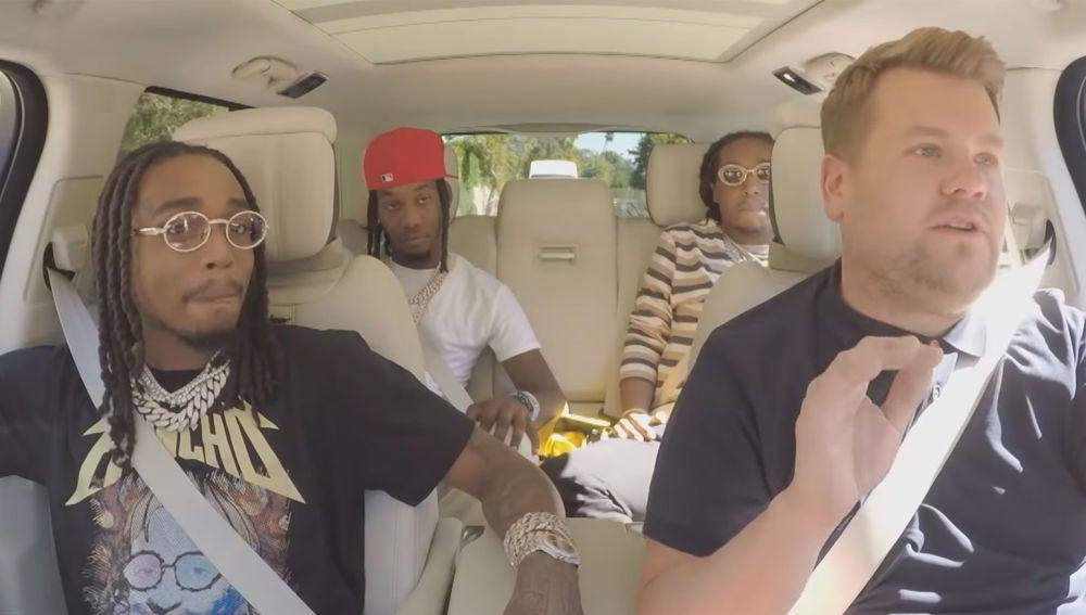 Migos en el Carpool Karaoke