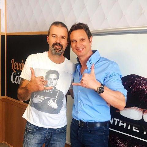 Pau Donés y Javier Cárdenas