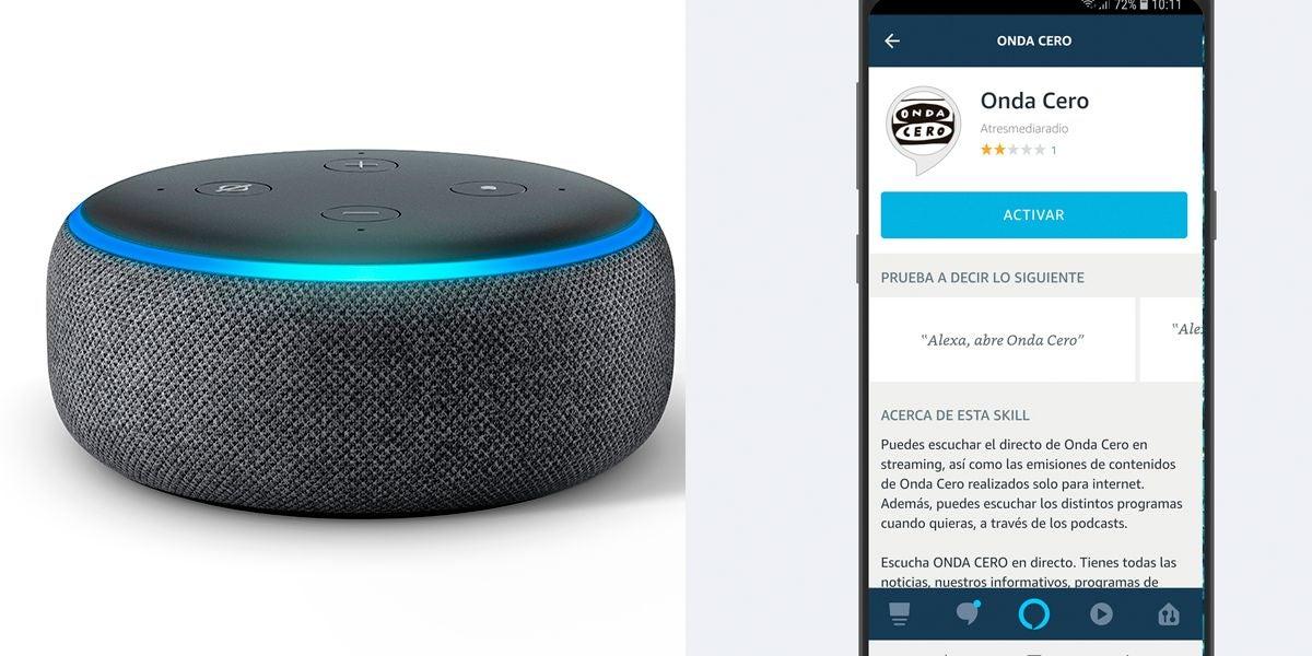 Cómo escuchar EN DIRECTO Onda Cero a través de Alexa