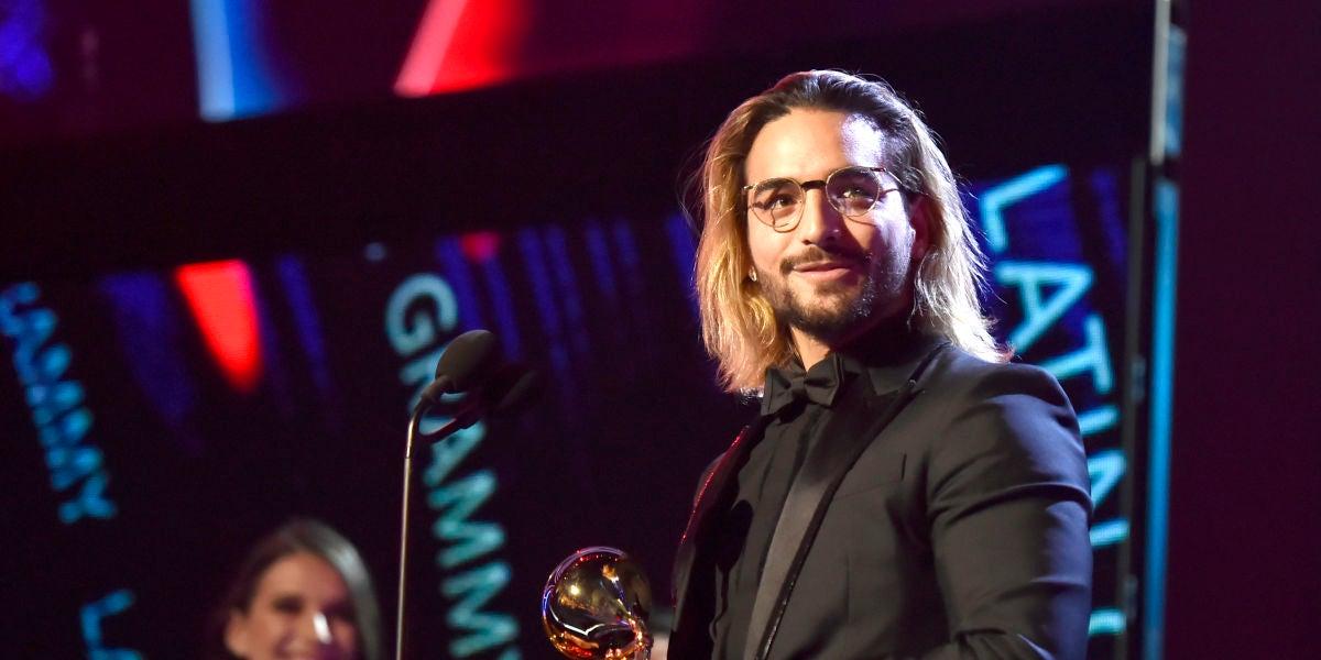 Maluma en los Latin Grammy 2018