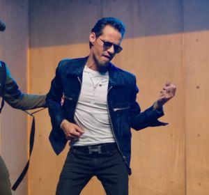Prince Royce y Marc Anthony en el videoclip de 'Adicto'