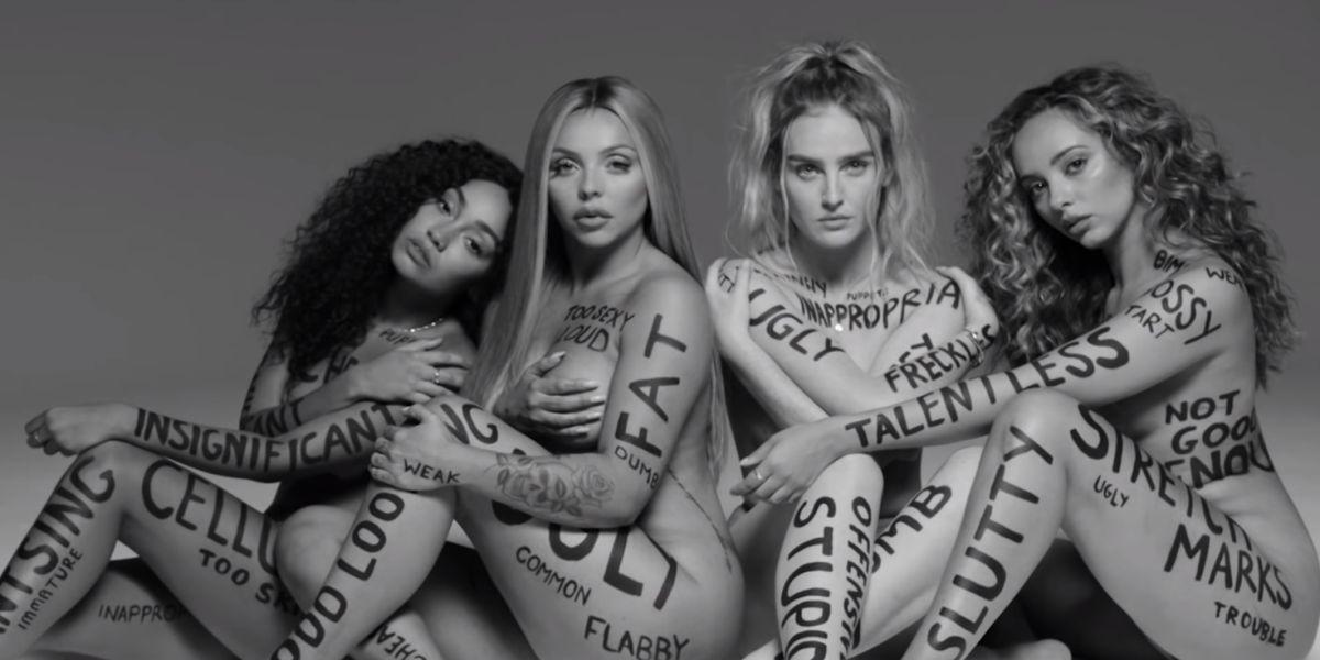 Las componentes de Little Mix se desnudan en su nuevo videoclip