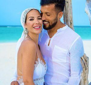 Tamara Gorro y Ezequiel Garay se volvieron a casar en Las Maldivas