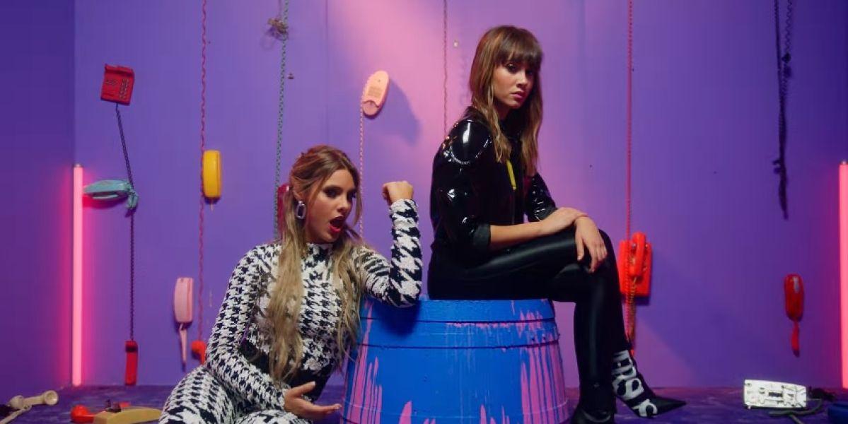 Aitana y Lele Pons