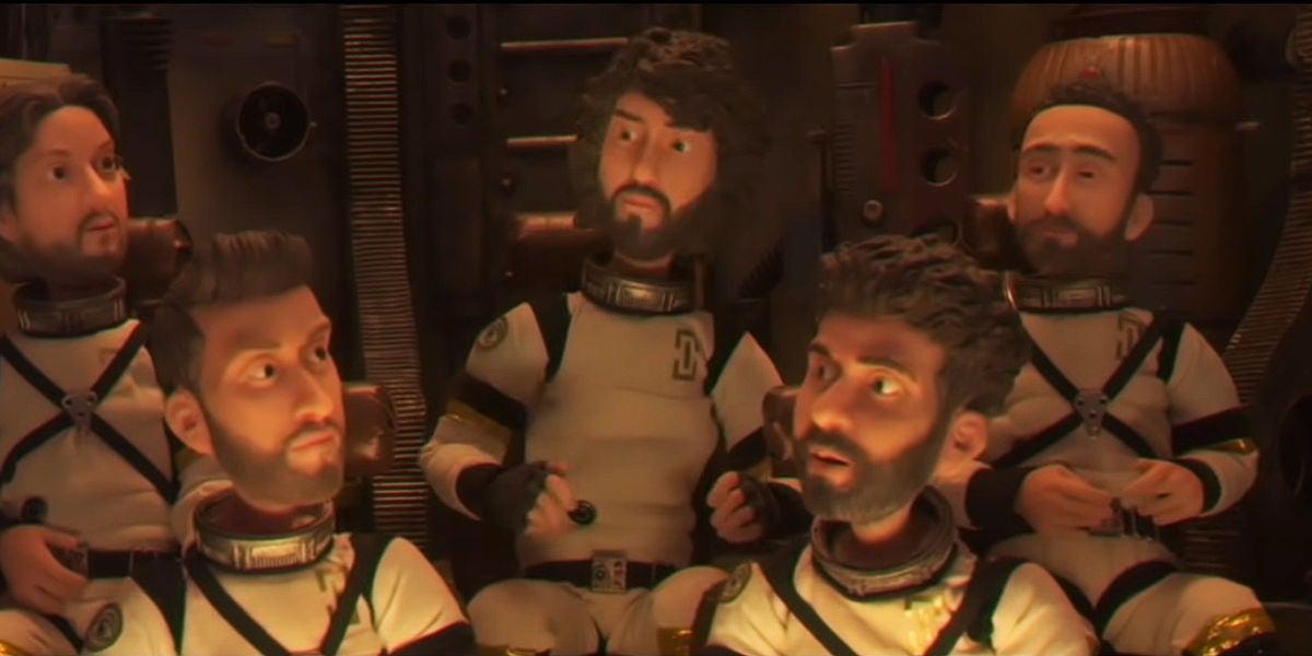 Los 'avatares' de IZAL protagonizan el vídeo de 'La Increíble Historia del Hombre Que Podía Volar Pero No Sabía Cómo'