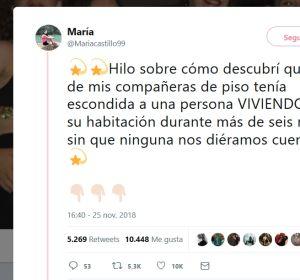 La historia de terror que vivió María en Sevilla