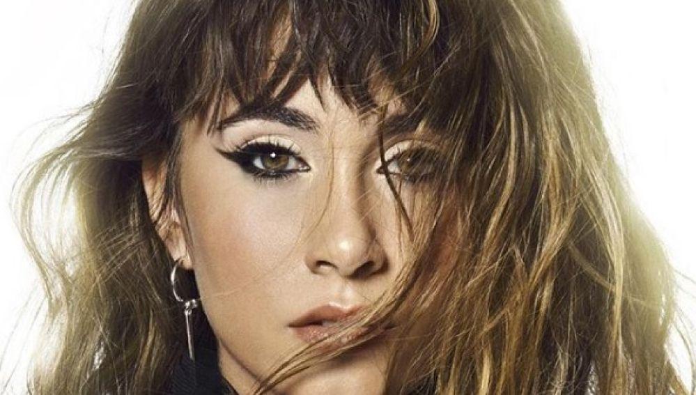 Aitana en la portada de su primer EP, 'Tráiler'