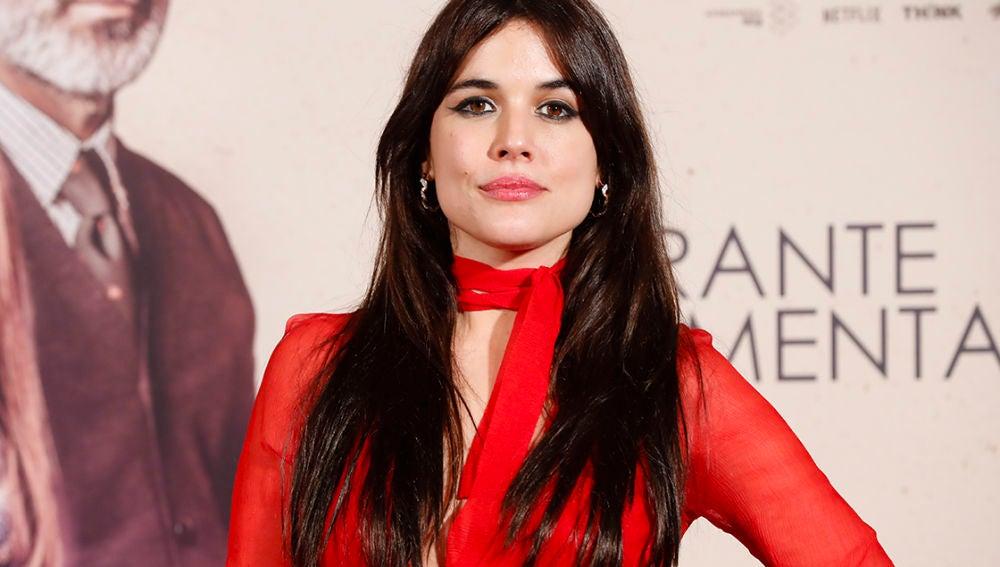 La actriz Adriana Ugarte, protagonista de 'Durante la tormenta'
