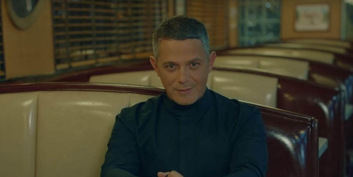 Alejandro Sanz en el videoclip de 'No Tengo Nada'