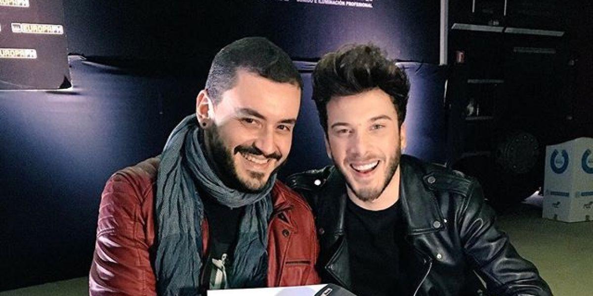 Juanma Romero y Blas Cantó durante su entrevista para Europa FM