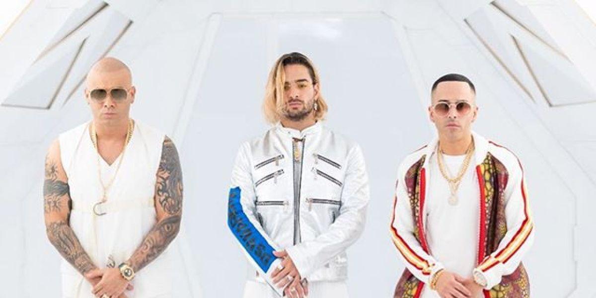 Maluma, Wisin y Yandel estrenan 'La Luz', su nueva colaboración