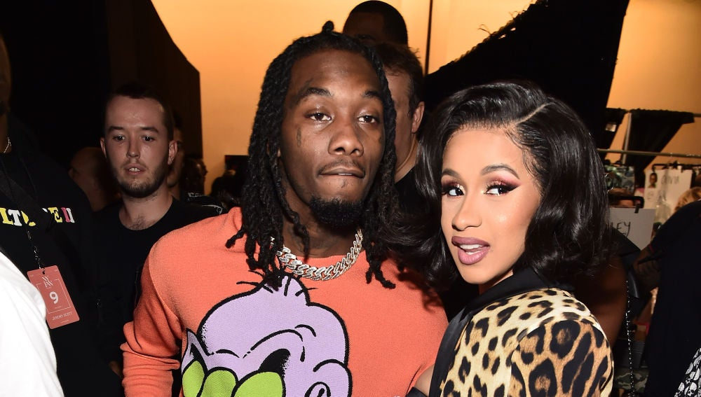 Offset y Cardi B en la New York Fashion Week