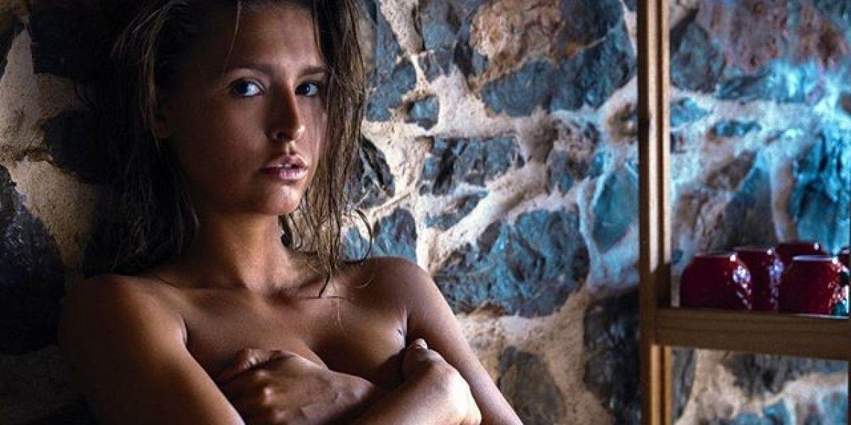 La modelo Playboy Marisa Papen