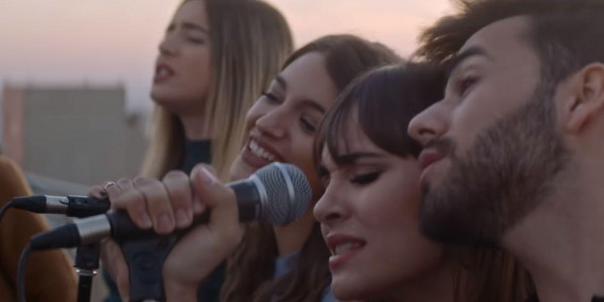 Raoul, Lola Índigo, Ana Guerra, Aitana y Agoney en 'El Mundo Entero'