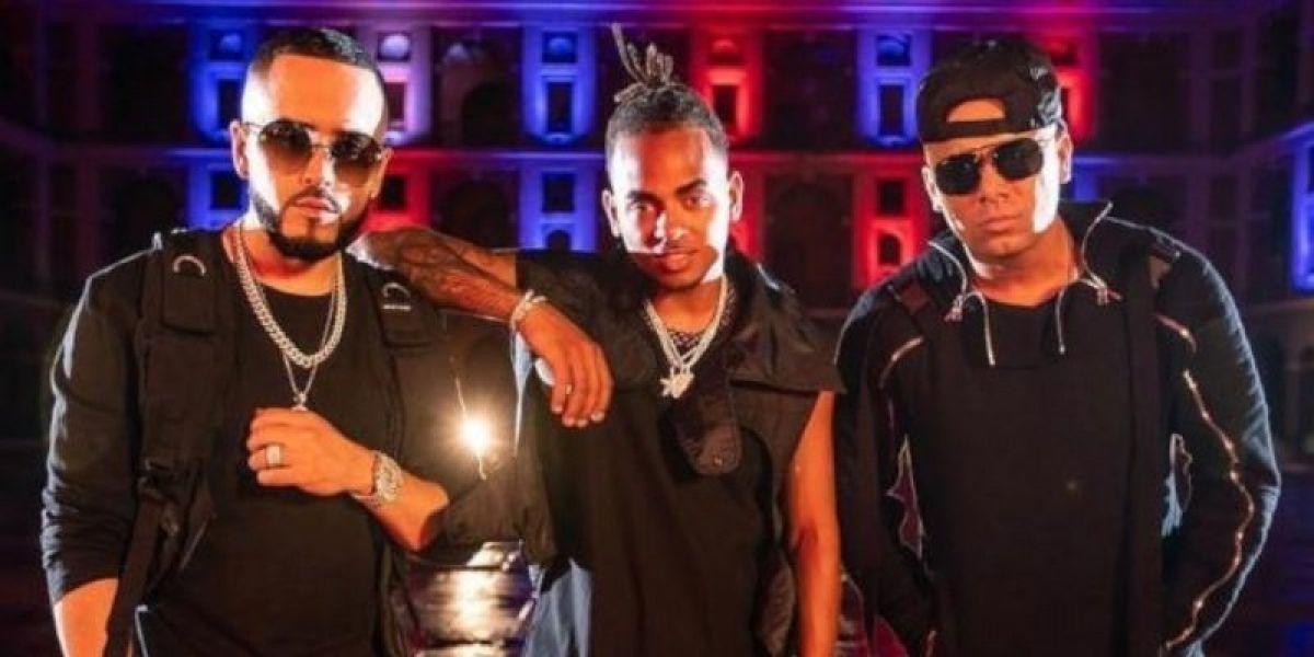 Yandel, Ozuna y Wisin en el vídeo de 'Quiero Más'