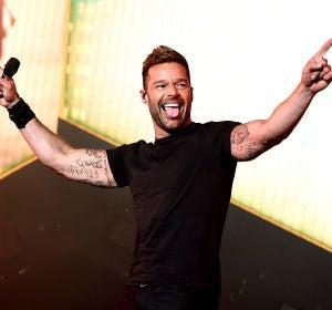 Ricky Martin durante uno de sus conciertos