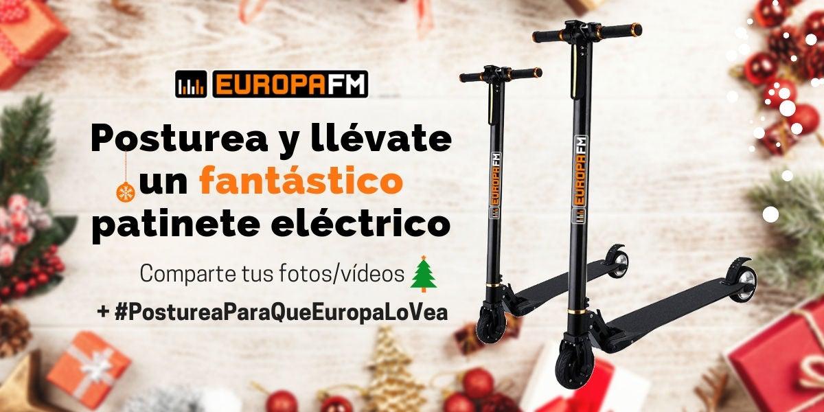 Concurso: Patinetes eléctricos de Europa FM