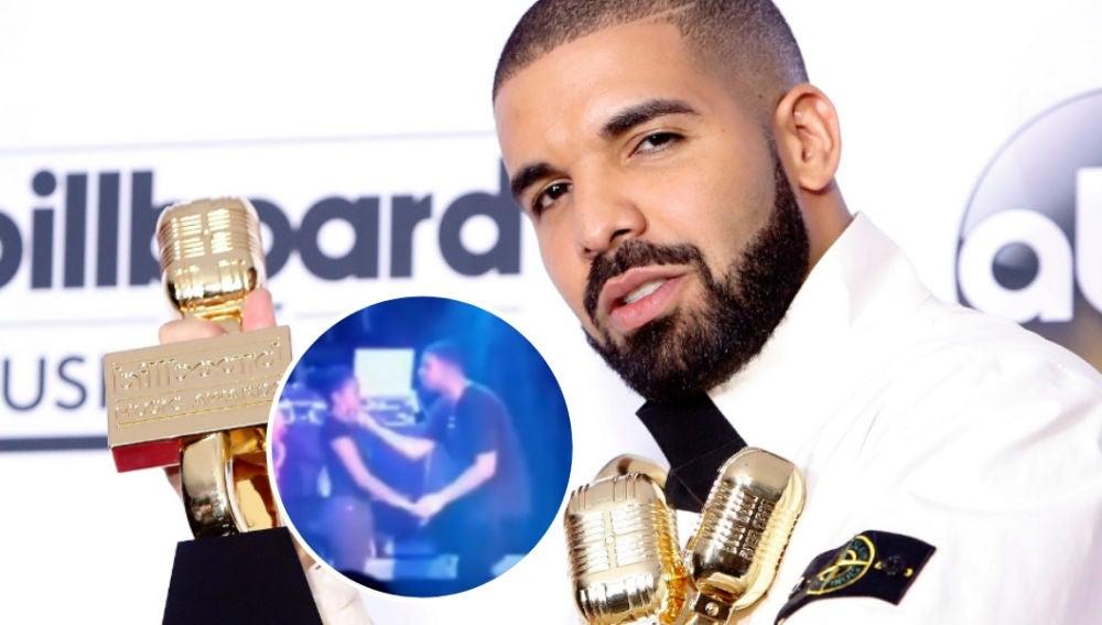 Drake besa a una menor en un polémico vídeo
