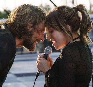 Bradley Cooper y Lady Gaga en 'Ha nacido una estrella'
