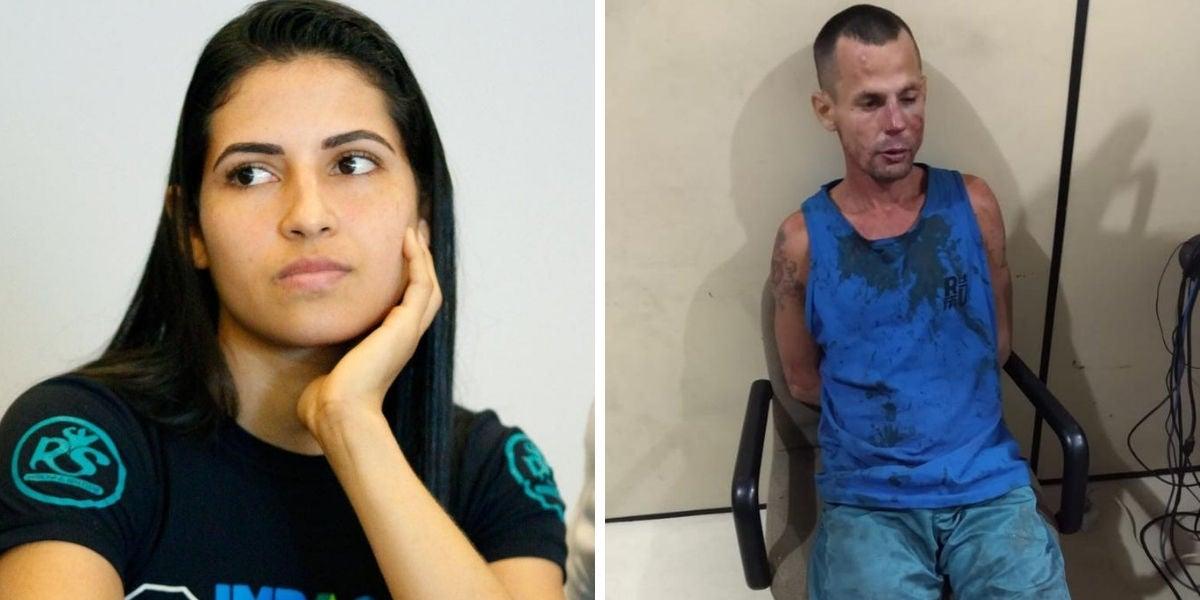 Una luchadora de UFC propina una brutal paliza al ladrón que intentaba robarle el móvil