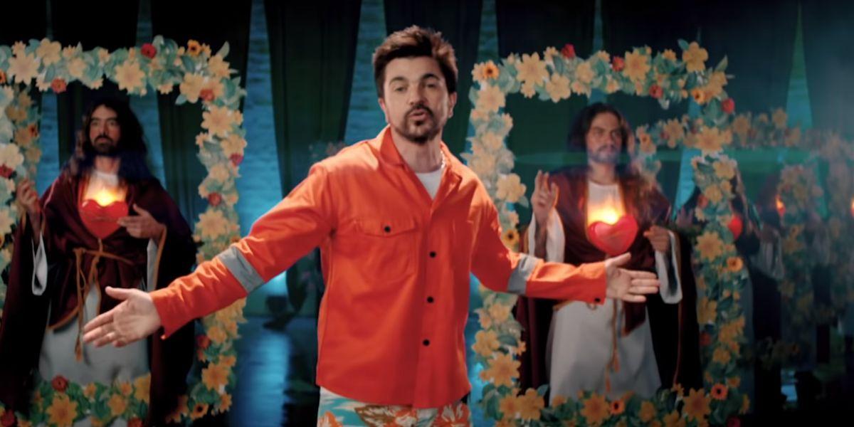 Juanes en el videoclip de 'La Plata'