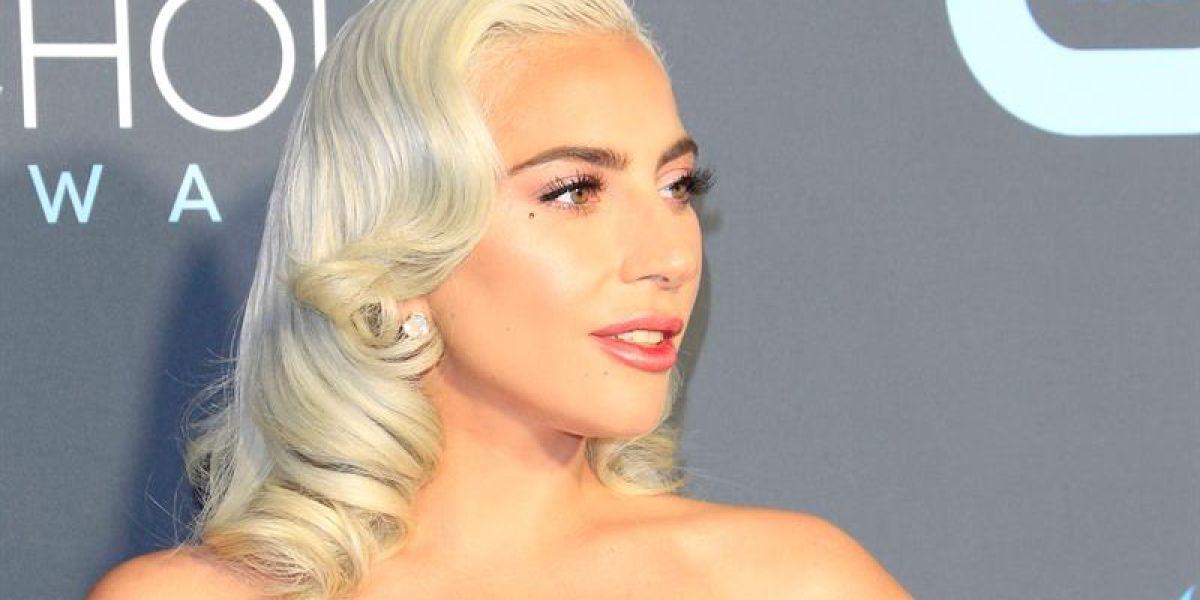 Lady Gaga en los Critics' Choice Awards
