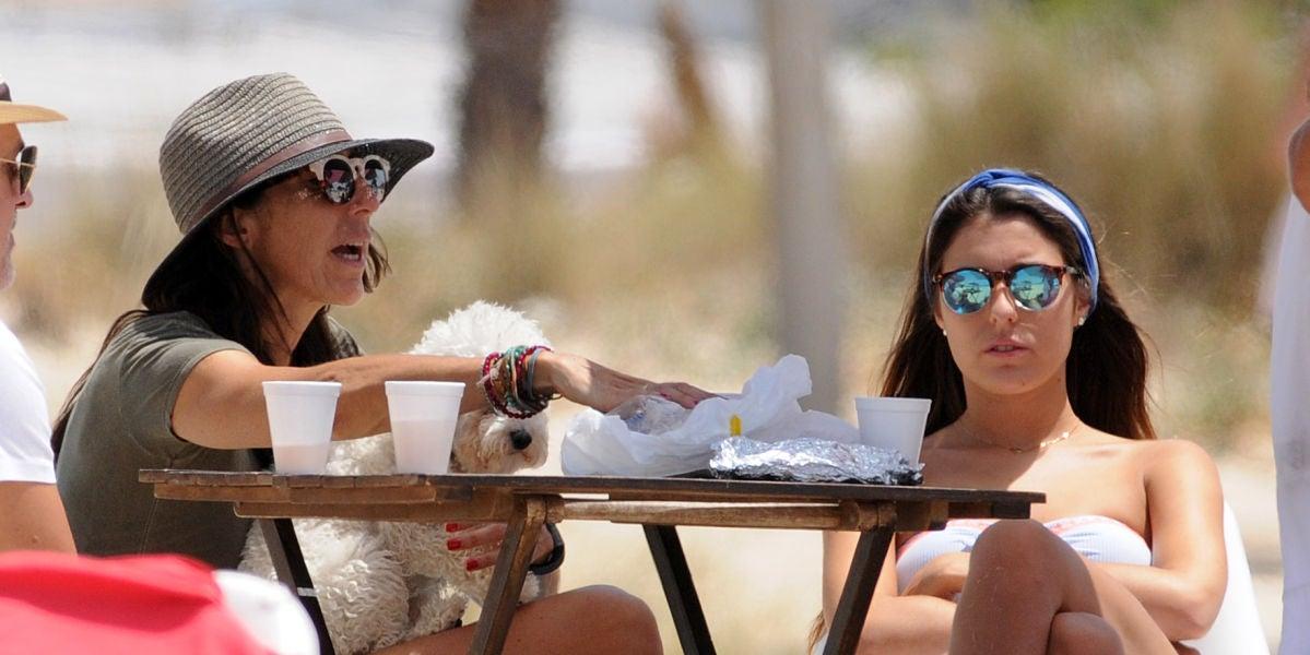 Paz Padilla con su hija Anna Ferrer