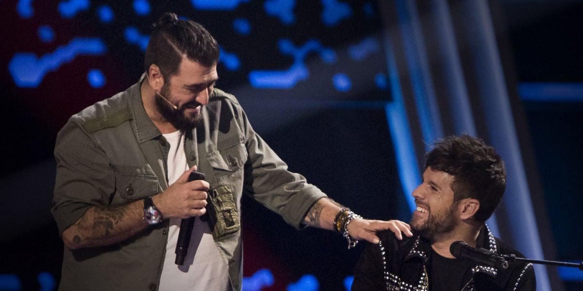 La Voz - Audiciones a ciegas 4 - Antonio Orozco canta junto a Pablo López 'No hay más'
