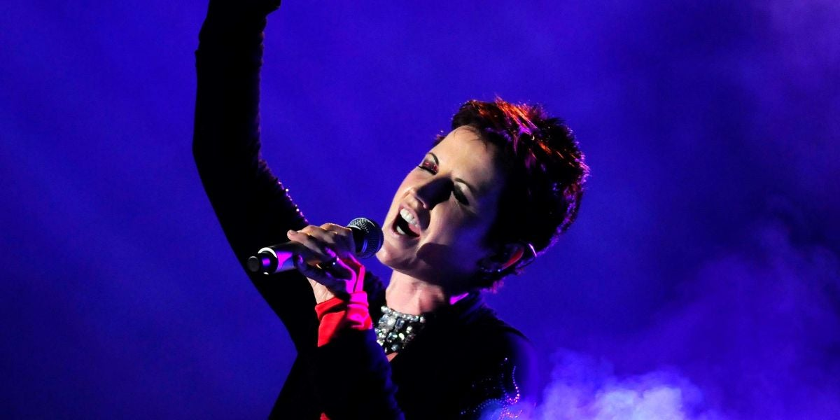 Dolores O'Riordan de The Cranberries
