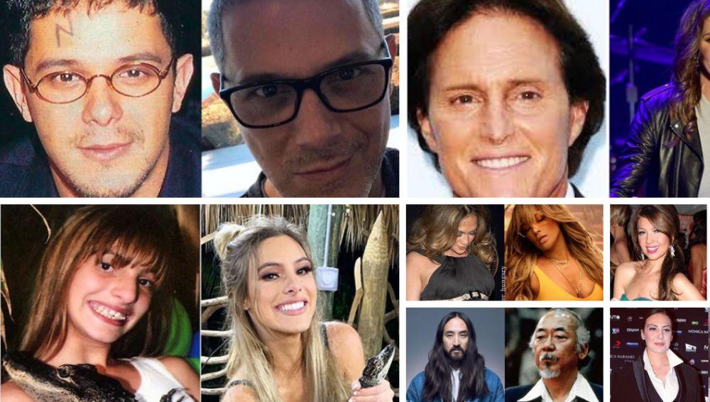 Los famosos se unen al #10YearsChallenge