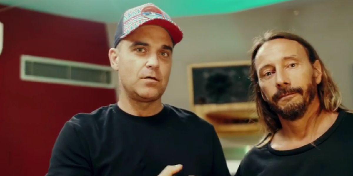 Robbie Williams y Bob Sinclar