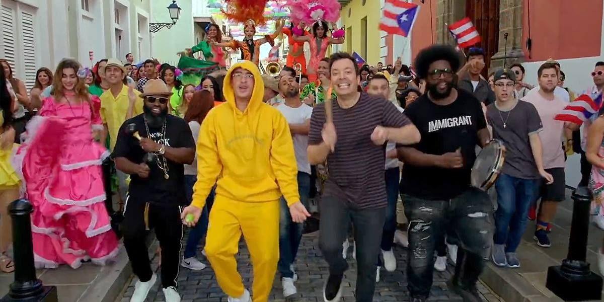 Bad Bunny y Jimmy Fallon revolucionan las calles de Puerto Rico
