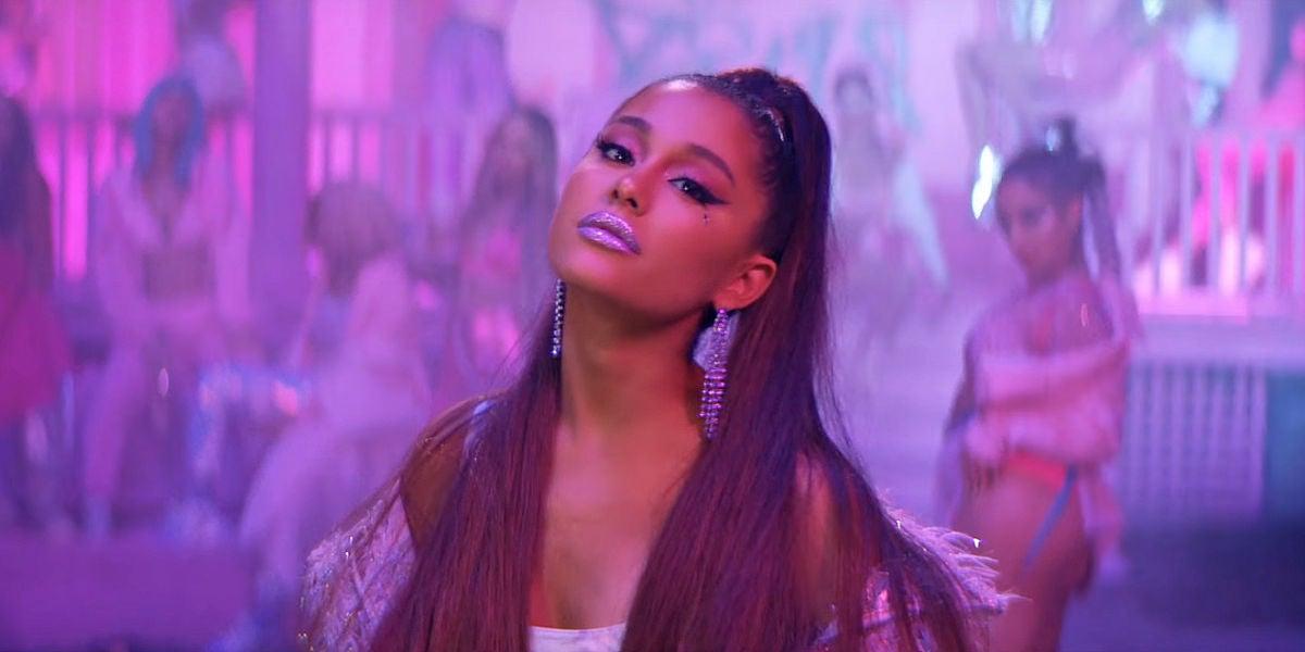 Ariana Grande en el vídeo de '7 Rings'