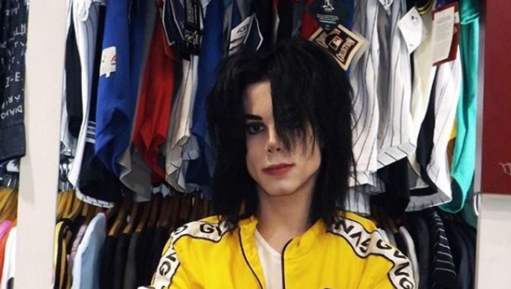 Leo Blanco quiere ser Michael Jackson