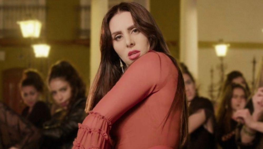 La Mala Rodríguez en el vídeo de Gitanas