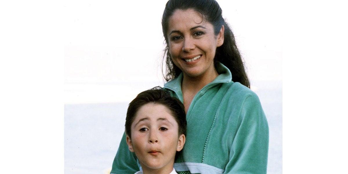 Isabel Pantoja con su hijo Kiko Rivera