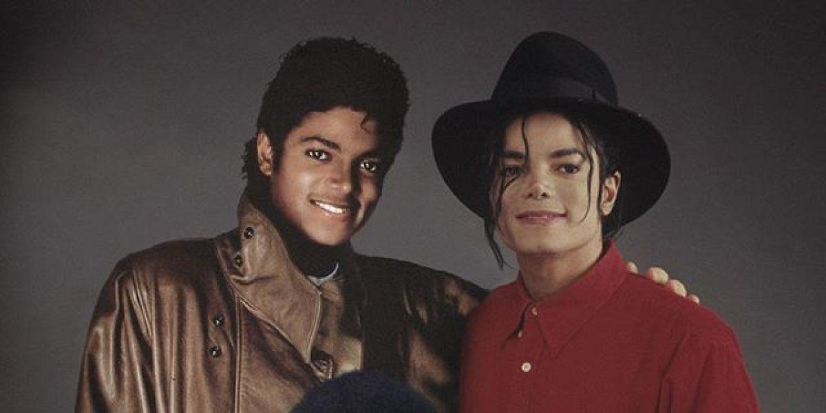 El diseñador gráfico holandés Ard Gelinck une la niñez y la madurez de muchos famosos como Michael Jackson