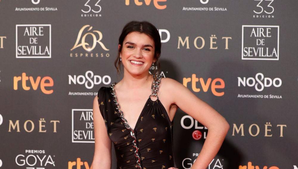 Amaia sin depilar en los Premios Goya 2019