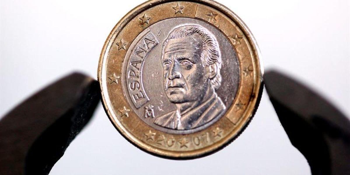 Una moneda de un euro
