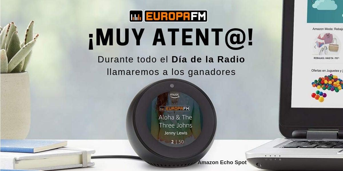 Muy atento al Día De La Radio en Europa FM