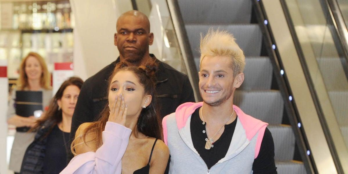 Ariana Grande y su hermano Frankie