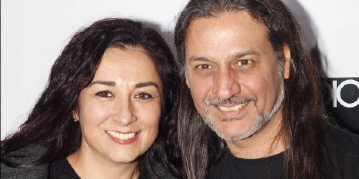 Ángeles Muñoz y Dionisio Martín, del grupo Camela