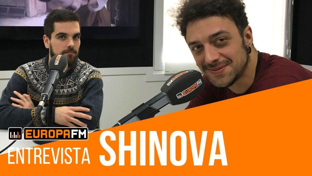 Entrevista con Shinova en Europa FM