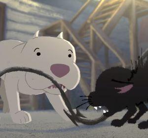 Escena de 'Kitpull', el nuevo cortometraje de Pixar