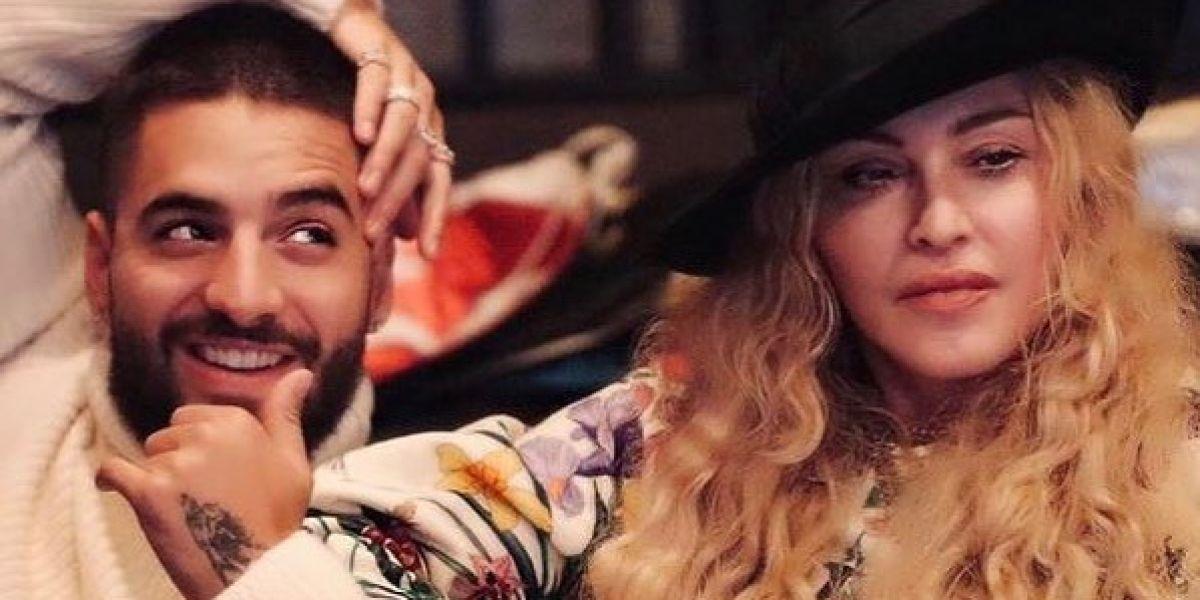Maluma y Madonna confirman su colaboración musical